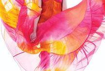 Pink/Orange/Yellow Wedding / Orange, Pink & Yellow Remixed for Weddings.