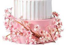 Cherry Blossom Wedding / Shades of Pink & White Remixed.