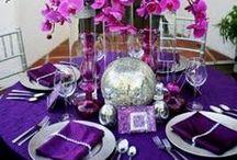 Silver/Purple Wedding / Shades of Purple & Silver Remixed