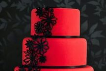 Red/Black Wedding / Red & Black for A Unique Wedding