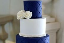 Blue/White Wedding / Shades of Blue Mixed with White for Weddings.