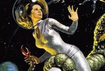 Sci Fi Kitsch! / Dust off your silver space suit and shine your bubble helmit!