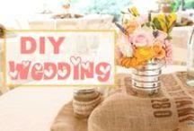 DIY Wedding Ideas / Do it Yourself Wedding Decor