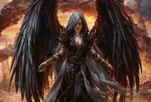 Dark Angels / 'Black as the devil, hot as hell, pure as an angel, sweet as love.'             ~ Charles Maurice de Talleyrand