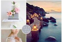 Wedding Theme : Sea
