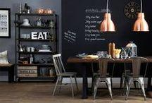 * Interior * Kitchen & Dining Room
