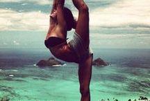 Joga + Krajinky / Joga cvičení meditace životní styl , krajinky