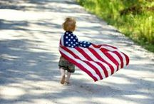 Phourth of July! / Celebrate America with your youngins! Bring in the patrotism :)
