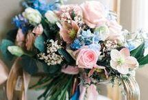 Blue/Blush Pink Wedding / Rose & Blue wedding