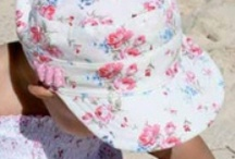 Baby Girls Sun Hats / Some of gorgeous baby girls hats including cotton buckets and quick dry legionnaires.