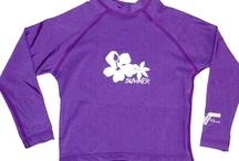 Baby & Kids Rashies / MikyB has a great range of longs sleeve rashies for babies and kids. Sizes 0000 to 10. UPF50+.