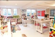 A....Creative spaces for Child of the Lilly / Art space inspiration