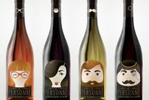 Awesome Wine Labels / Trying to put a label on our love for wine.