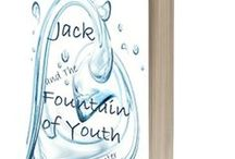 "Jack and The Fountain of Youth, a YA novella / Some people say the Fountain of Youth is a myth. Jack Ponsi Dileonardo Thomas knows better.  Jack and The Fountain of Youth (ebook) Genre: Middle Grade/Young Adult fantasy Rating: Sweet, clean (minimal offensive language; no explicit love scenes) Suitable for: Ages 10 and up Length: Novella (25,800 words; 100 pages) What reviewers say: ""The cast of characters were well developed – and Jack – was divine!""  Read the installments at http://www.hlcarpenter.com/"