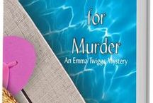 The Emma Twiggs Mysteries / Meet Emma Twiggs: Septuagenarian sleuth; Aunty to her favorite (and only) nephew; matchmaker at heart.  Read three short stories at https://www.hlcarpenter.com/index.php/fiction/emma-twiggs/