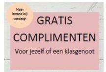 Complimentenweek / Allerlei activiteiten voor de complimentenweek van groep 1 t/m 8