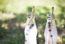 Lavender Blues / food and style inspiration in lavender shades