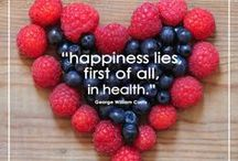 Inspiration / Inspirational and motivational quotes on nutrition, fitness, health, and wellness.