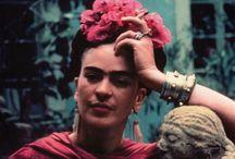 Frida Kahlo / #frida #beautiful #kahlo #love #painter #life