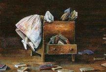 Livres de Chevet ... / - Reliures précieuses - Editions originales & Editions rares - Livres de notre enfance - / by Nicole Jal-Bernard