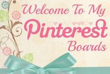 Welcome to my Pinterest Boards
