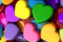 A Rainbow of Color / Welcome to my boards. Pin whatever inspires you.....no pin limits!!!!!