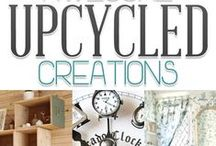 I Up-Cycle because I can / By using your imagination and sometimes being inspired by others, everything can have a second life and be useful or decorative. All made by toddaroo designs / by Toddaroo Designs