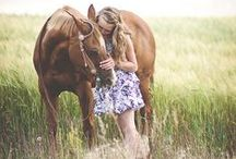 A Girl and her Horse / Welcome to my boards. Pin whatever inspires you.....no pin limits!!!!!