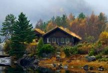 Cabin/Cottage in the Woods / Welcome to my boards. Pin whatever inspires you.....no pin limits!!!!!