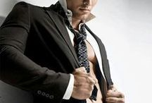 Men's Fashion / Men's fashion; well-dressed men; handsome men who know how to wear clothes.  Want to read more about confident, alpha men? http://christasimpson.com / by Christa Simpson