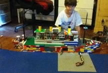 Son's Lego Creations / Youngest son's passion is designing and creating things from Legos.