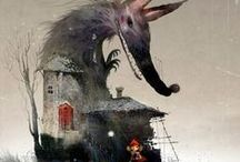 Inspirational - Red and the wolf