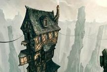 Inspirational - Castles & Fantasy Architecture