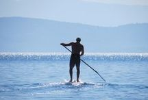 SUP Boarding Holidays / Ideal Ionian location for short & long distance boarding