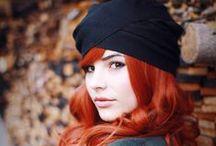 Kızıl / Garip bir büyüsü vardır kızıl saçın ;)
