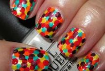 nails / cool awesome pretty nails