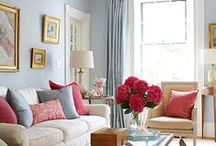 Small Space Decorating / Decorating tips and ideas for smaller spaces in condos and apartments.