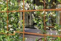 clôture jardin privé