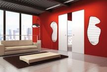 LINEAR POCKET FRAME - SWING DOOR / LINEAR is a frame for sliding doors conceived to eliminate completely any use of doorpost and covering profile.It foresees the sliding of one door panel, joining perfectly to the wall where it is fitted in.