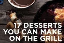 BBQ Desserts / Finish off your BBQ properly with a tasty grilled dessert! Check out these recipes...