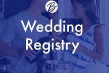 Wedding Registry Must Haves / Our brides have spoken - these are the must have registry items for your Bridal registry in 2018!  Start your own registry by visiting a local Boscov's store or registering online: https://www.myregistry.com/Boscovs-Registry/
