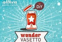 Wonder Vasetto - Il super vasetto per super creative! / Amanti del fai da te alla riscossa! I nostri sughi sono buoni, ma sapevi che i nostri vasetti sono anche belli? È un peccato buttarli. E allora riusali! Cominciamo dal tappo! Come? Per scoprirlo seguici su http://www.sughialthea.it/wondervasetto/ Tante novità in arrivo con #WonderVasetto!