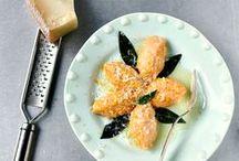 Primi piatti: pasta gnocchi