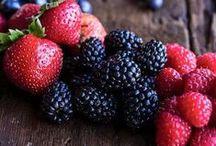 frutti di bosco / Dolci con fragole, lamponi, mirtilli, more.....