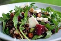 Insalate / Insalate fredde e calde, miste, piatti unici, di verdure e di cereali