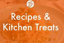 Recipes and Kitchen Treats