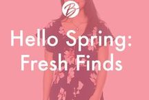 Hello Spring: Fresh Finds / The freshest finds in Juniors!