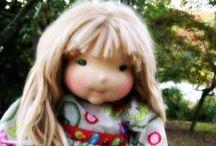 Waldorf dolls & patterns/tutorials / How to make waldorf style dolls