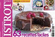 Bistrot Magazine / Raffiné, convivial et décalé... Enfin un magazine trendy qui s'inscrit dans le nouveau courant culinaire de la bistronomie.