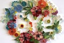 Quilling and paper crafts / How tos of folding paper, designs, origami, punchwork, / by Laurie McLaughlin Bark